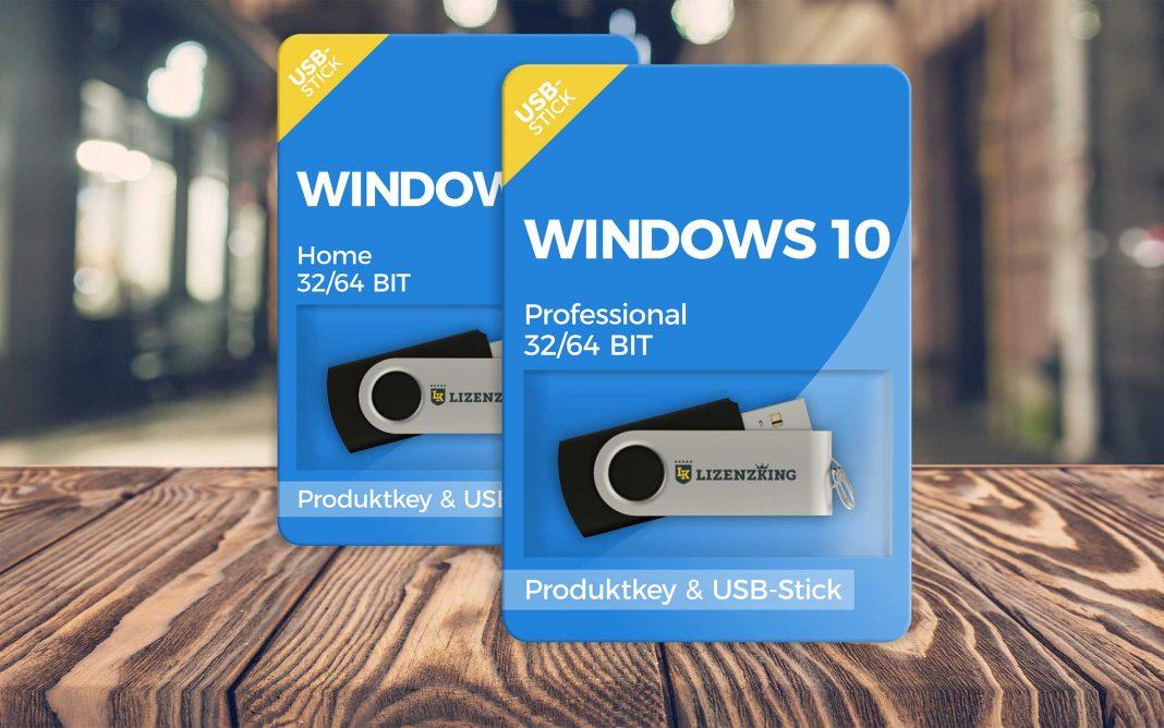 La clé USB Windows 10 : Maintenant disponible dans la boutique Lizenzking