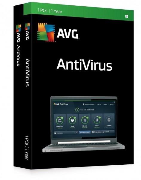 AVG Antivirus (1 PC - 1 Jahr)