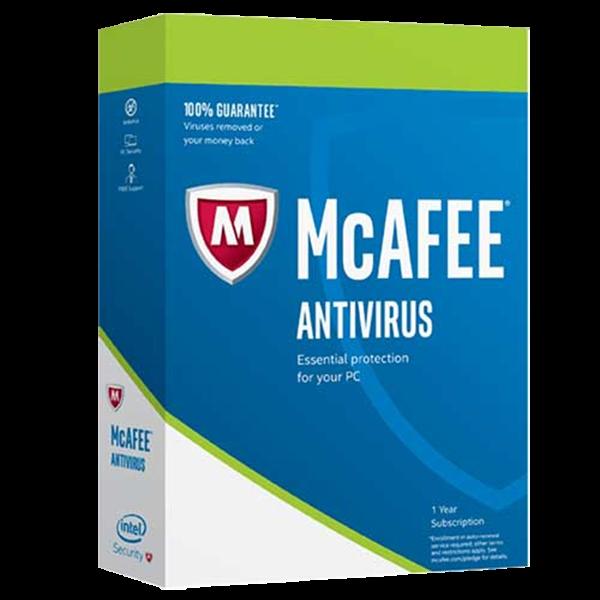 McAfee Antivirus 1 PC - 1 Jahr