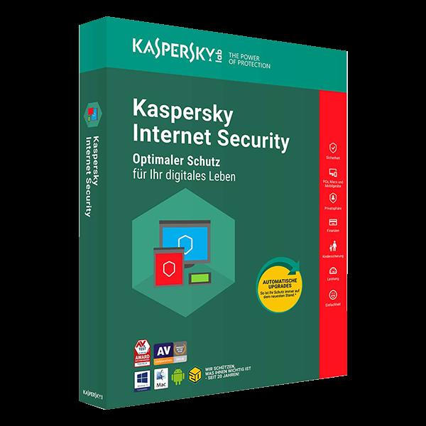 Kaspersky Internet Security (1 Device - 1 Jahr) MD